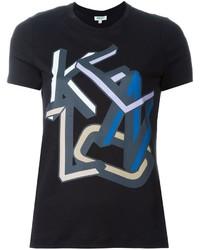 Kenzo Letters Print T Shirt