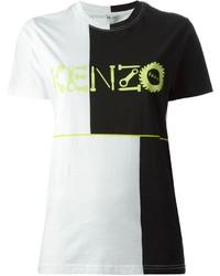 Kenzo Logo Print T Shirt