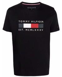 Tommy Hilfiger Logo Crew Neck T Shirt