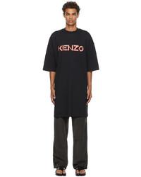 Kenzo Logo Poncho T Shirt