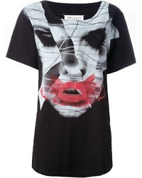 Maison Margiela Abstract Face Print T Shirt