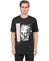 Versace Medusa Printed Cotton Jersey T Shirt