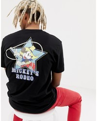 ASOS DESIGN Mickey Relaxed T Shirt With Rodeo Print
