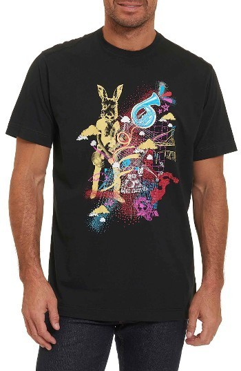 75be603822 $98, Robert Graham Monterey Pop Classic Fit Graphic T Shirt