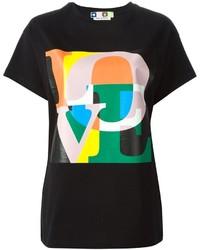 MSGM Love Print T Shirt