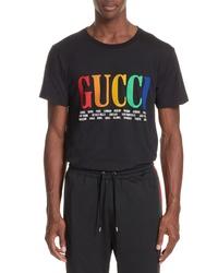Gucci Multicolor Logo T Shirt