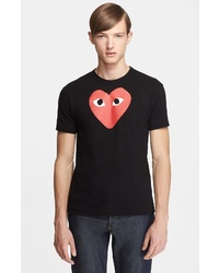 Comme des Garcons Play Heart Graphic T Shirt