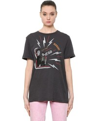 Etoile Isabel Marant Printed Cotton Jersey T Shirt