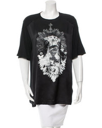 Givenchy Printed Silk T Shirt