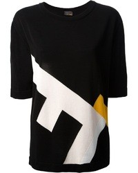 Fendi Printed T Shirt