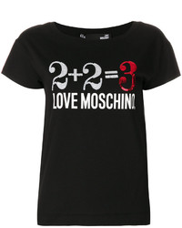 Love Moschino Printed T Shirt