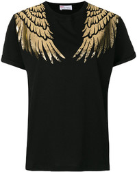 RED Valentino Printed Wing T Shirt