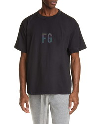 Fear Of God Reflective Logo T Shirt