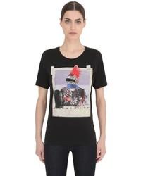 Dsquared2 Rocker Printed Cotton Jersey T Shirt