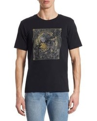 The Kooples Screen Print Cotton T Shirt