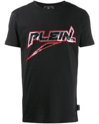 Philipp Plein Sequin Logo T Shirt