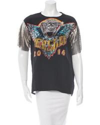 Versace Silk Printed T Shirt