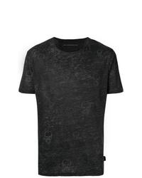 John Varvatos Skull Print T Shirt