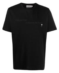 Canali Slogan Print T Shirt