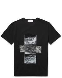 Beams T Printed Cotton Jersey T Shirt