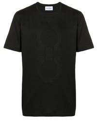 Salvatore Ferragamo Tonal Logo Print T Shirt