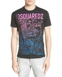 Topographic graphic t shirt medium 3772687