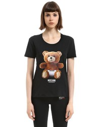Underbear print cotton jersey t shirt medium 6376250