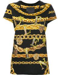 Philipp Plein Chain Print T Shirt