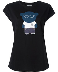 Emporio Armani Bear Print T Shirt