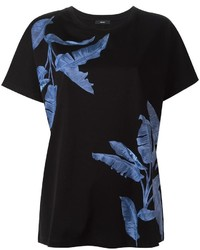 Diesel Plant Print T Shirt