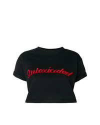 Intoxicated Ed Cropped T Shirt