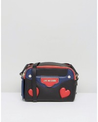 Love Moschino Heart Print Crossbody Bag