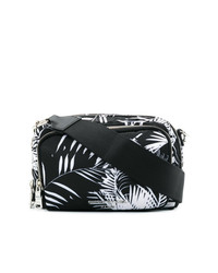 Sonia Rykiel Palm Print Reporter Bag