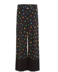 Sonia Rykiel Printed Wide Leg Trousers