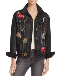Sunset spring patched denim jacket 100 medium 3644950
