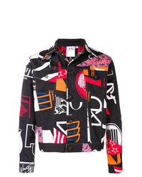 Calvin Klein Jeans Est. 1978 Printed Denim Trucker Jacket