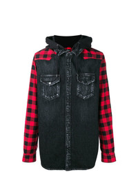 Marcelo Burlon County of Milan Skull Denim Shirt