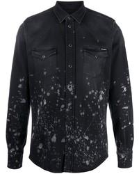 Dolce & Gabbana Splatter Effect Shirt