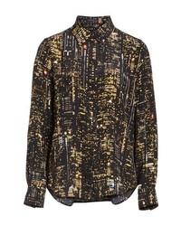 Marc Jacobs City Print Silk Shirt