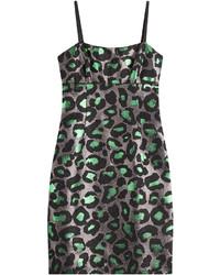 Marc by Marc Jacobs Animal Print Jacquard Dress