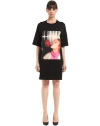 Kenzo Antonio Lopez Print Stretch Jersey Dress