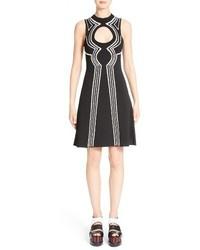 Proenza Schouler Intarsia Loop Knit Dress
