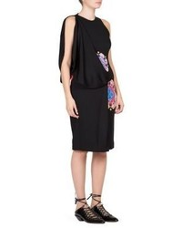 Givenchy Mandala Printed Jersey Dress