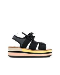 Marni Lace Up Platform Sandals
