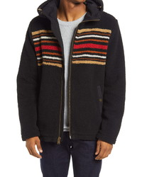 Pendleton Deschutes Fleece Zip Up Hooded Jacket