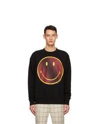Marni Black Smiley Edition Fleece Sweatshirt
