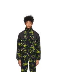 adidas Originals Multicolor Polar Fleece Big Trefoil Track Jacket