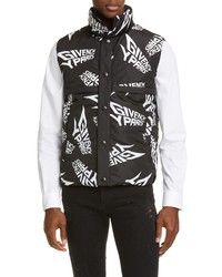 Givenchy Allover Logo Puffer Vest