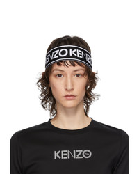 Kenzo Black And White Sport Headband