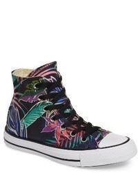 Chuck taylor all star print high top sneaker medium 1139162